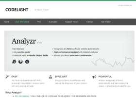 analyzr.codelight.de