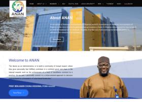 anan.org.ng