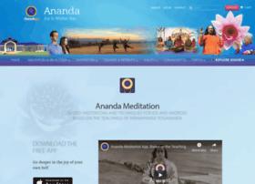 anandameditationapp.com