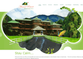 anandresortmunnar.com