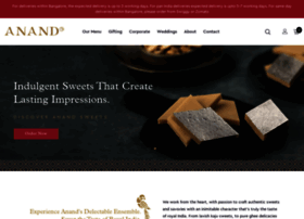 anandsweets.in