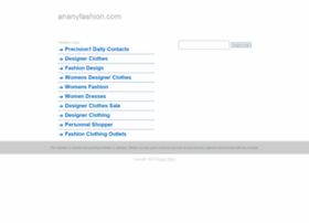 ananyfashion.com