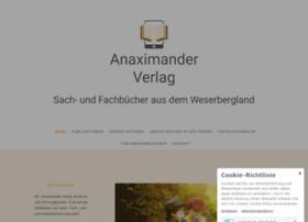 anaximander-verlag.de