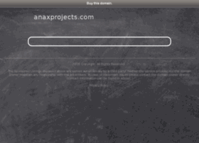 anaxprojects.com