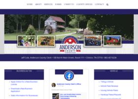andersoncountyclerk.com