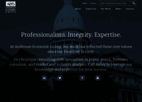 andersoneconomicgroup.com