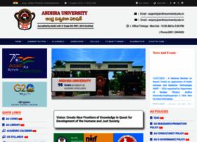 andhrauniversity.edu.in
