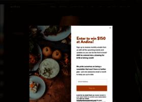 andinarestaurant.com