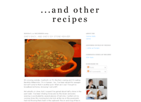andotherrecipes.blogspot.com