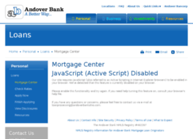 andoverbankohio.mortgagewebcenter.com