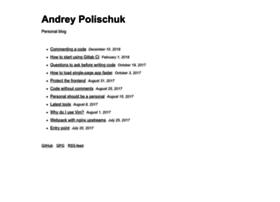 andrepolischuk.com