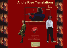 andrerieutranslations.com