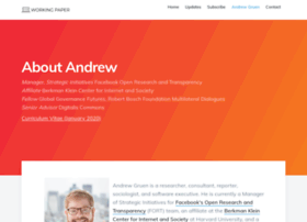 andrewgruen.com
