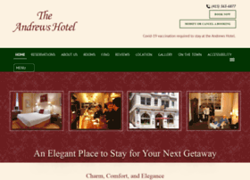 andrewshotel.com