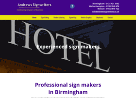 andrewssignwriters.co.uk