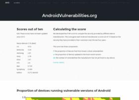 androidvulnerabilities.org