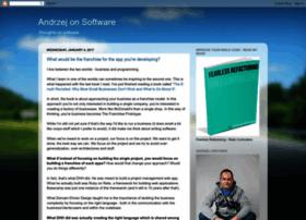 andrzejonsoftware.blogspot.in