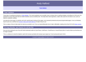 andyhalford.com