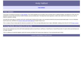 andyhalford.com