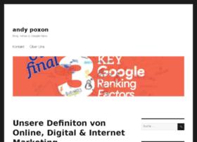 andypoxon.com
