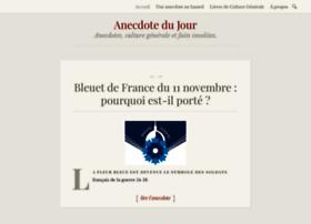anecdote-du-jour.com
