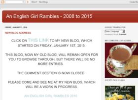 anenglishgirlrambles.blogspot.com