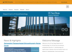 anesthesia.ucsd.edu