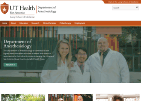 anesthesia.uthscsa.edu