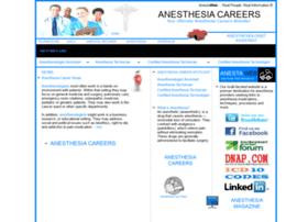 anesthesiacareers.com