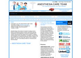 anesthesiacareteam.com
