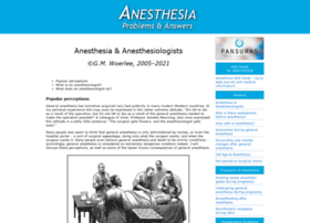 anesthesiaweb.org