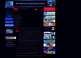 anesthesiologistassistant.com