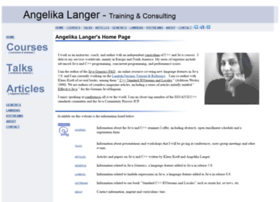 angelikalanger.com