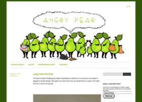 angriestpear.com