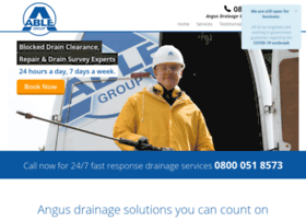 angus.able247drains.co.uk