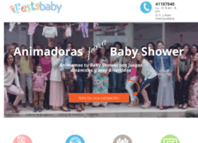 animadorasbabyshower.com