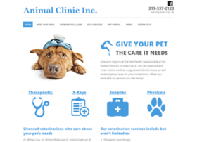 animalclinicic.com