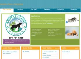 animalclinicofhonolulu.vetstreet.com