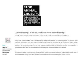 animalcrueltycsskaa.weebly.com