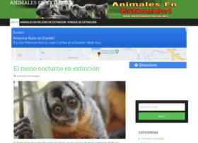 animalesenextincion.info