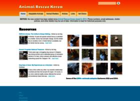 animalrescuekorea.org