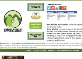 animalrescueoftherockies.rescuegroups.org
