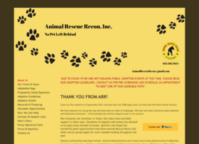 Animalrescuerecon.com