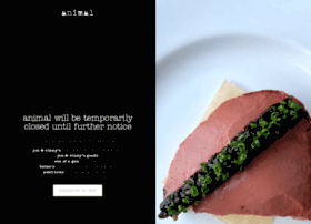 animalrestaurant.com