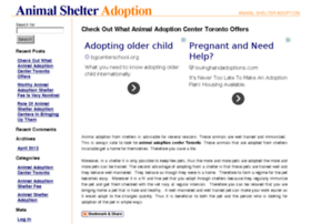 animalshelteradoption.com