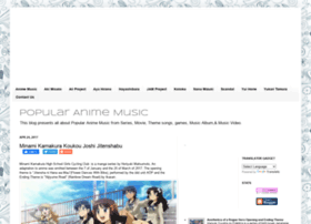 anime-popular-music.blogspot.com