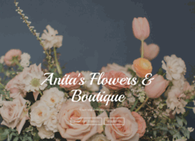 anitasflowersandboutique.com