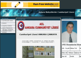 ankaracumhuriyetlisesi.tr.gg
