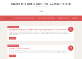 ankaratelekom.com