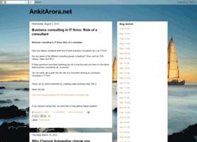 ankitarora.net